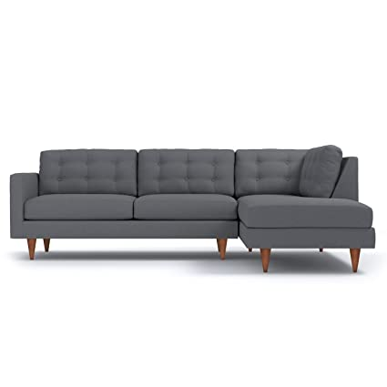 Superieur Apt2B Logan 2 Piece Sectional Sofa, Chromium, RAF   Chaise On Right (