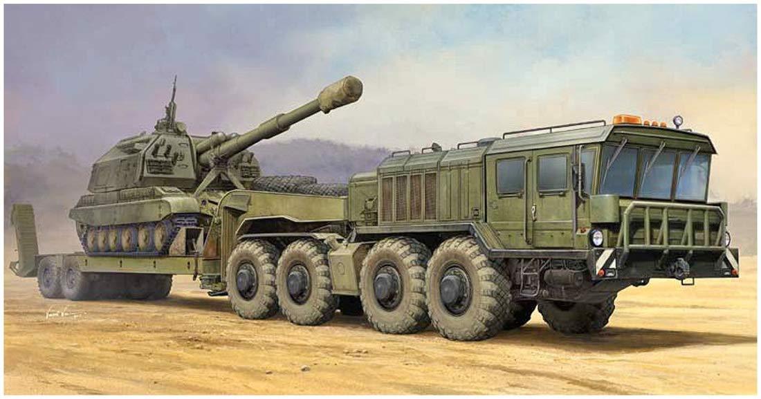1/35 Russian KZKT 7428 Tank Transporter