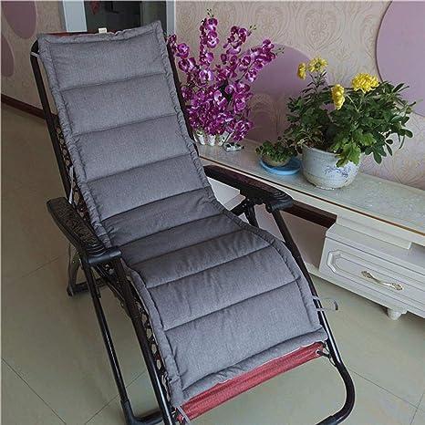 Amazon.com: Cojín reclinable plegable de algodón y lino ...