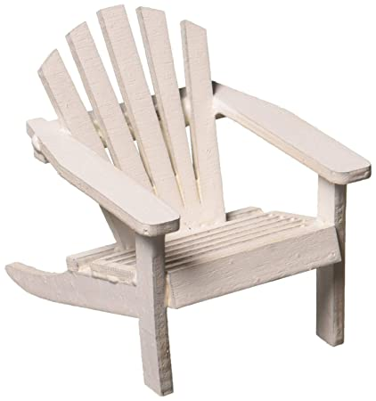 Tremendous Timeless Mini Adirondack White Wood Chair Miniature Wedding Gamerscity Chair Design For Home Gamerscityorg