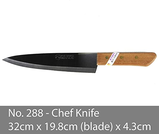 KIWI Knife Kitchen Cut Sharp Blade Cookware Stainless Steel Size (8 Inches) No.288