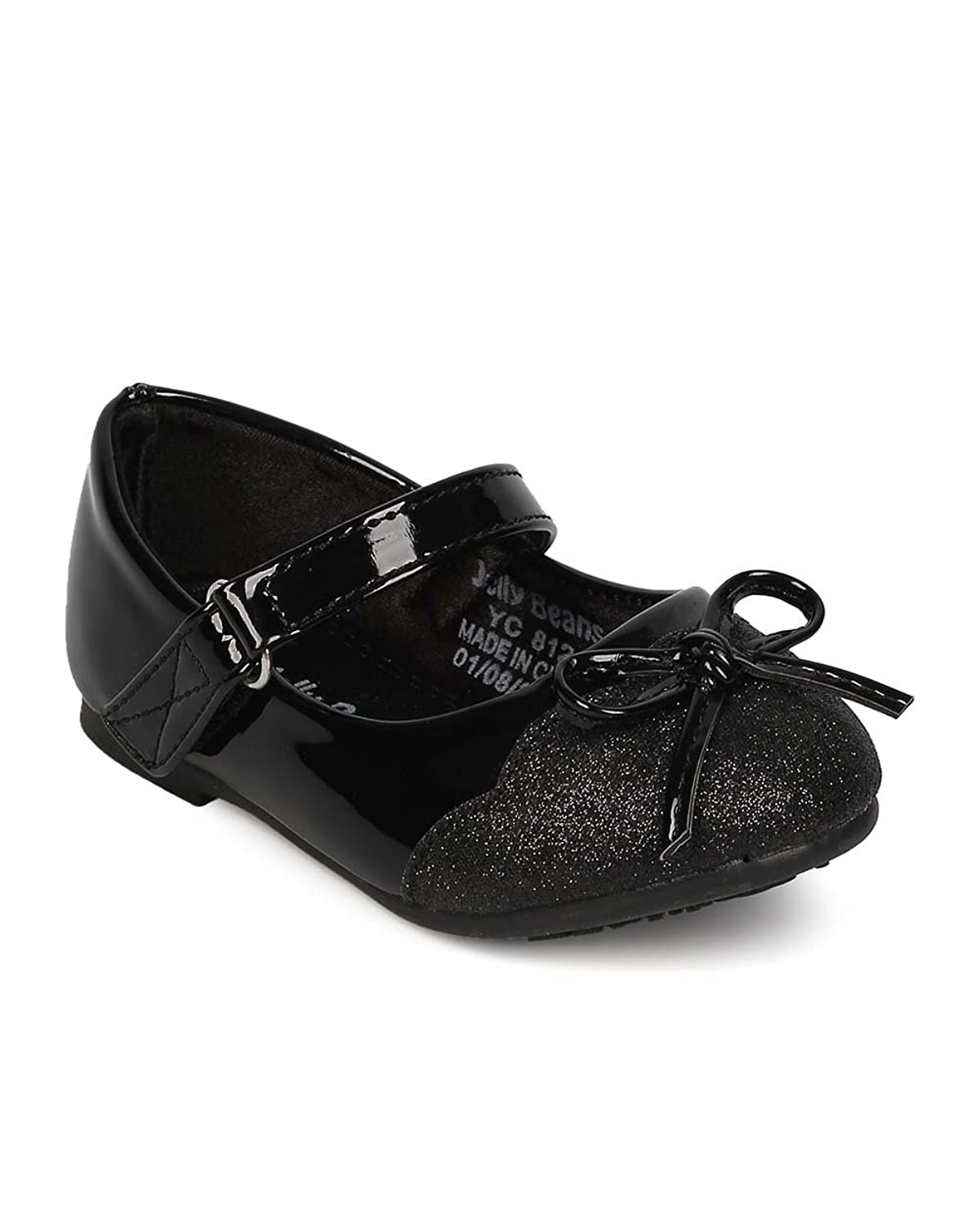 Aisun Boys Girls Cute Antiskid Round Toe Dress Slip-on Loafers/Flats Shoes with Bows