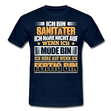 Spreadshirt Sanitäter Hören Auf Wenn Sie Fertig Sind Männer T-Shirt  Amazon. de 7609474682