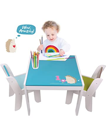 Pleasing Toddler Table And Chair Sets Amazon Co Uk Theyellowbook Wood Chair Design Ideas Theyellowbookinfo