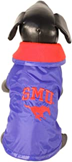 product image for NCAA Southern Methodist Mustangs All Weather Resistant Protective Dog Outerwear, Small