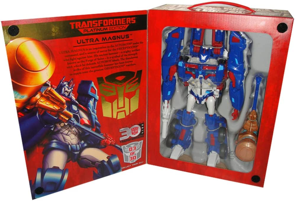 Transformers Platinum Year of the Snake Ultra Magnus Figure Brand New Fast