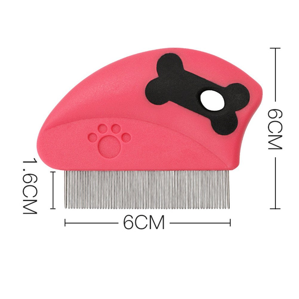 CoCocina Pet Dog Needle Comb Cat Comb Dog Hair Brush Long and Short Needle Comb Jinmaotaidi Large Dog Than Bear Comb - Blue
