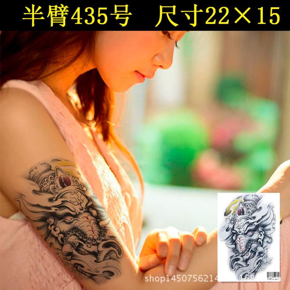 Modeganqing 5 Piezas Tatuaje Pegatinas Impermeable Personalidad ...