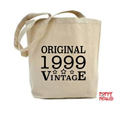 18th Birthday Tote Bag 1999 Gift Idea Present Daughter Amazoncouk Kitchen Home