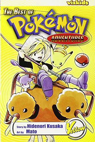 POKÉMON: Best of Pokemon Adventures: Yellow