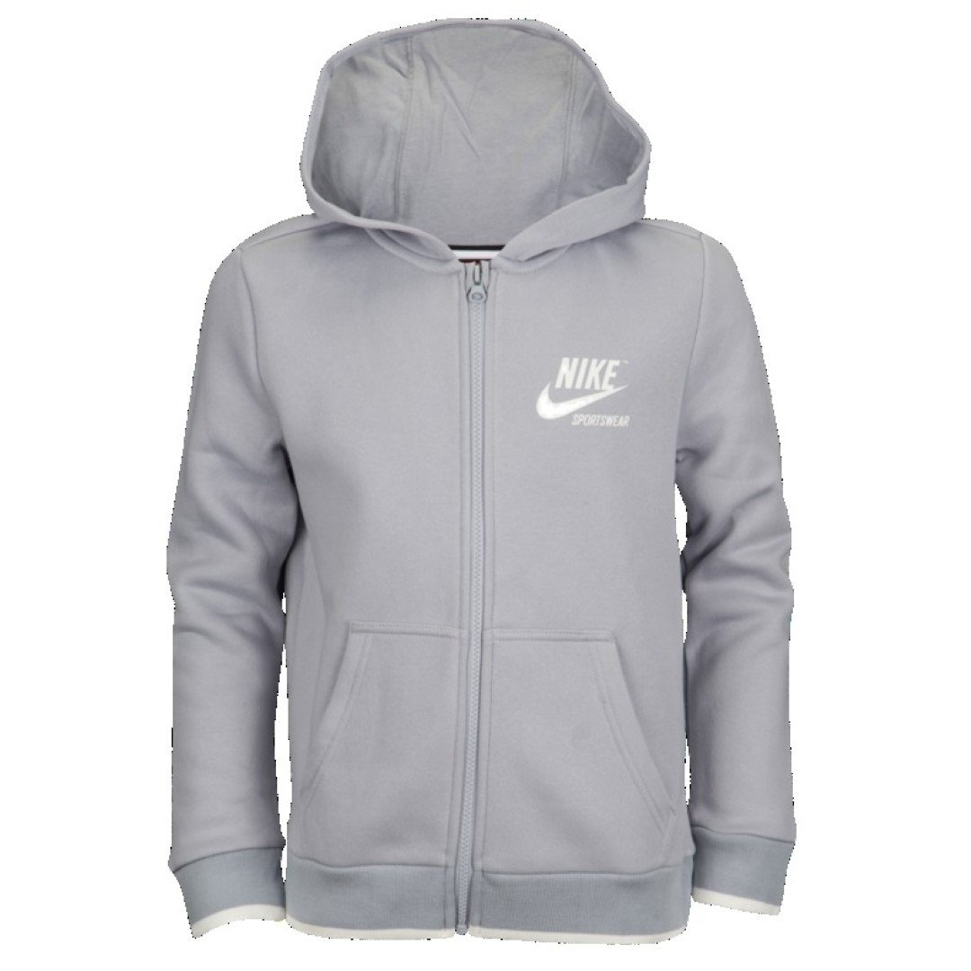 NIKE Archive Fleece Full-Zip Hoodie-Boys Large
