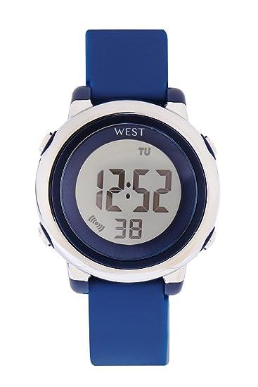 West Watch - Digital infantil de pulsera reloj - Niño - LED - Modelo Star - Azul Oscuro: Amazon.es: Relojes