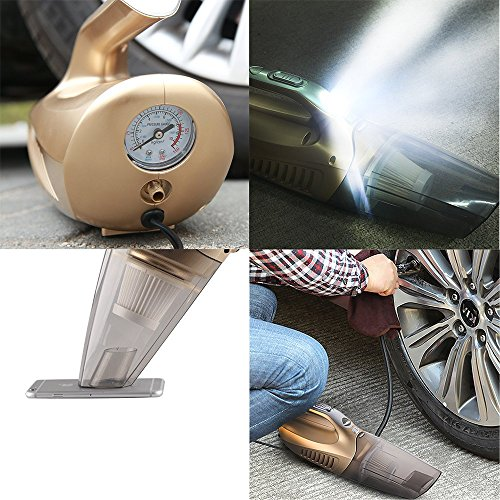 80 Off Mictuning Car Vacuum Cleaner With Tire Inflator