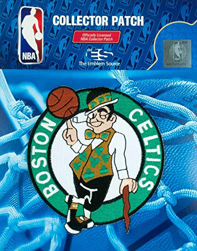 - Boston Celtics NBA Authentic Licensed Primary Team Logo Embroidered Collectors Patch