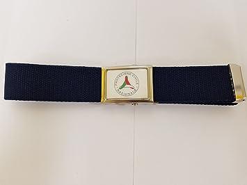 cinturón de Algodón 100% con hebilla digitalizador SBB – Protección Civil – Color Azul Navy CM 120: Amazon.es: Bricolaje y herramientas