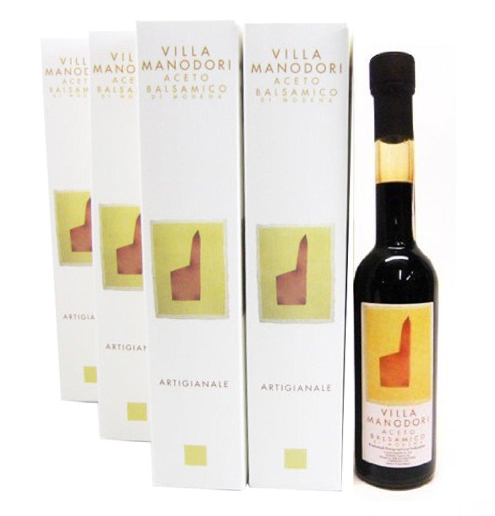 Villa Manodori Balsamic Vinegar - Half Case - SIX 8.5oz Bottles by Villa Manodori