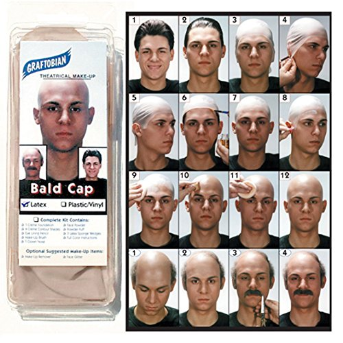 Graftobian Make-Up Company Latex Bald Cap
