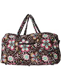 Bohemian and Traditional Prints - Quilted Large 22 inch Duffle Bag