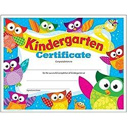 TREND enterprises, Inc. Kindergarten Certificate Owl-Stars!, 30 ct