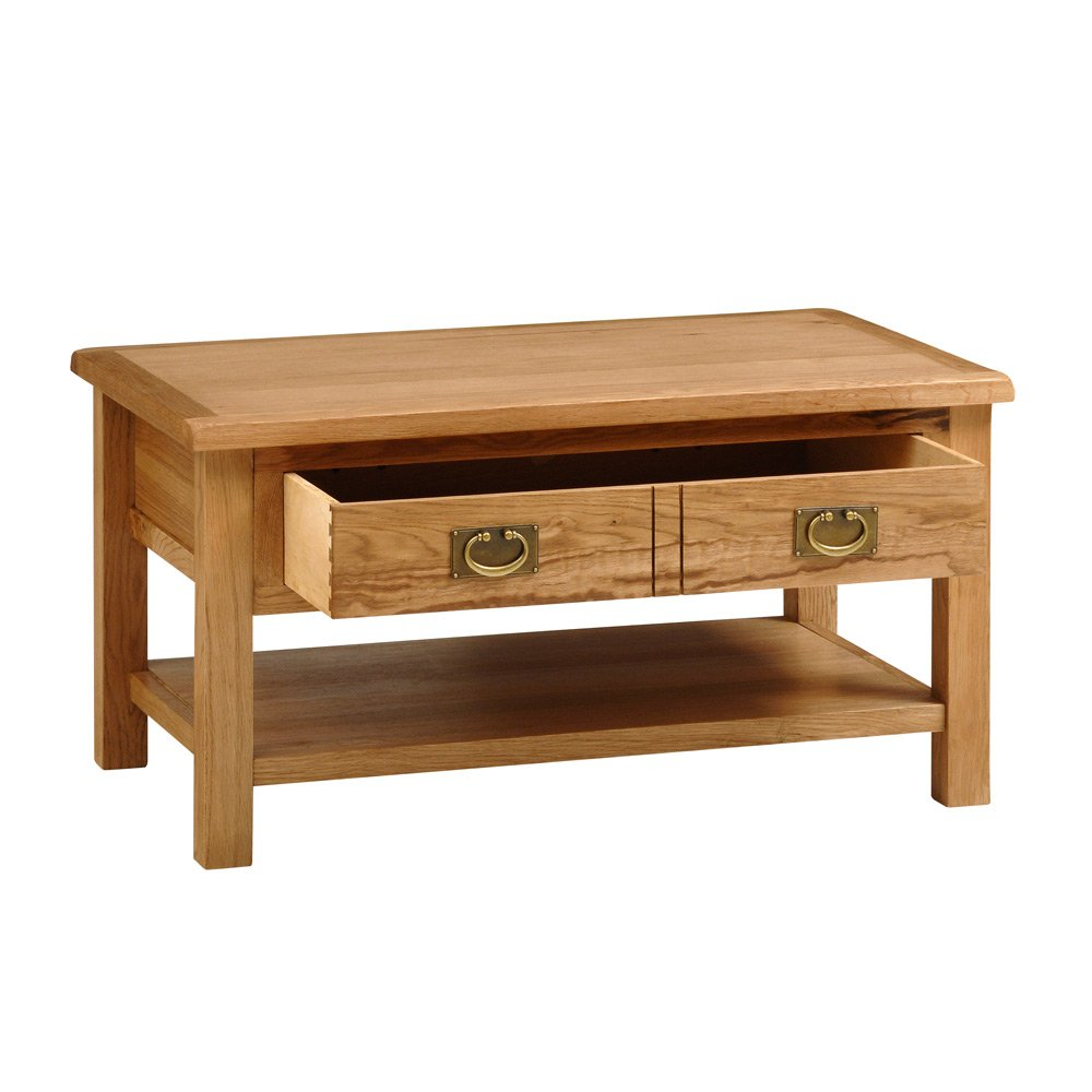 Salisbury light oak coffee table amazon kitchen home geotapseo Image collections