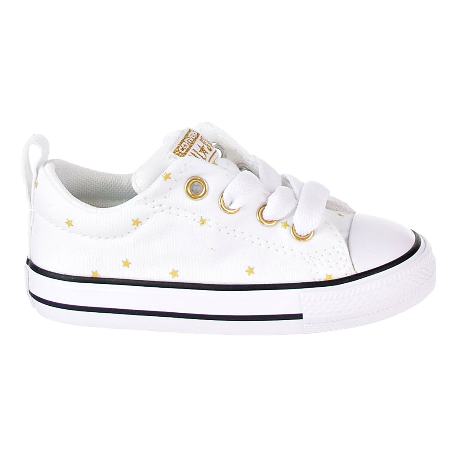 bc13ee60408d6 Converse Chuck Taylor All Star Street Slip Little Kid's Shoes White/Black  760874f