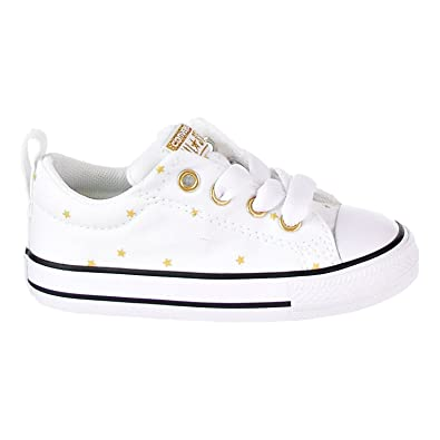 2a5cf0e8bbf0 Converse Chuck Taylor All Star Street Slip Little Kid s Shoes White Black  760874f (10