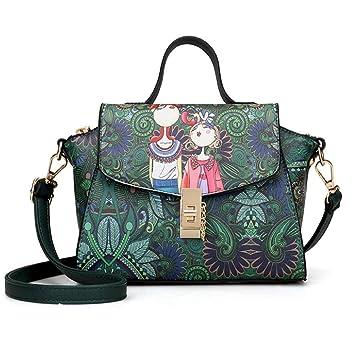 77eec388b003 Amazon.com : IRVING Women Handbags Shoulder Bags Tote PU Leather ...
