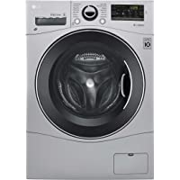 "LG WM3488HS 24"" Washer/Dryer Combo with 2.3 cu. ft. Capacity, Stainless Steel Drum in Stainless Steel"