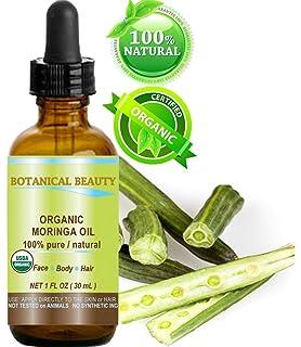 Moringa Aceite Orgánico Certificado. 100% puro/Natural/Sin Diluir. 1 fl
