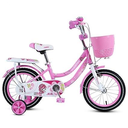 QQB &Carro Plegable Bicicleta Chico Ciclismo 14/16/18 Pulgadas Chica Cochecito de bebé
