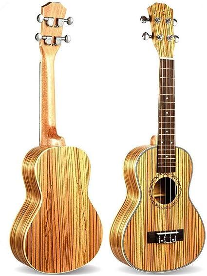 NING-MENG Ukulele de concierto 23 pulgadas 4 cuerdas Mini guitarra ...