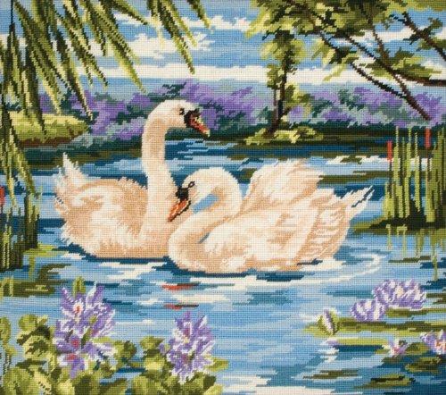(Anchor Tapestry Kit - Swans)