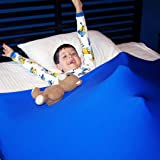 Huggaroo Pouch - Sensory Compression Bed Sheet | Weighted Blanket Alternative That is Light, Breathable, Silky, Strong and Cool All Night Long | Helps Children Self-Soothe, Relax, Unwind, and Sleep
