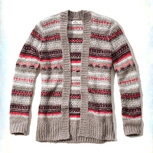 [ホリスター] HOLLISTER 正規品 レディース カーディガン Cable Knit Cardigan 350-508-0538-414 並行輸入品 (コード:4098860336)