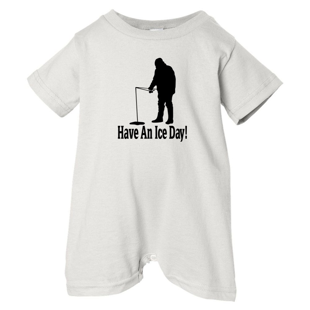 Mashed Clothing Unisex Baby Have An Ice Day T-Shirt Romper