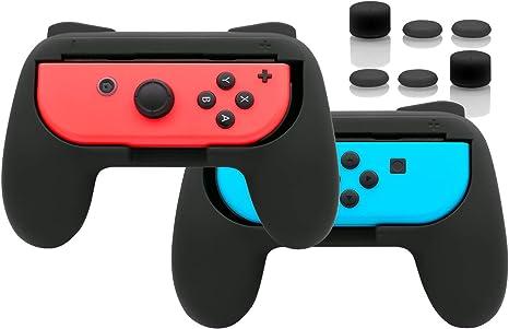 Comandos Joy-Con Fyoung (2 paquetes) para Nintendo Switch, comando Joy-Con resistente al desgaste para Nintendo Switch.: Amazon.es: Videojuegos