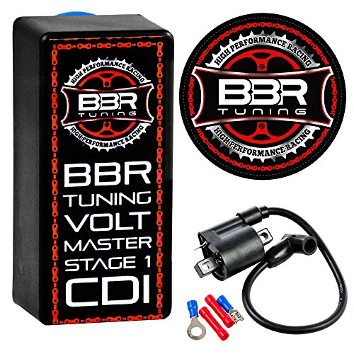 Bike Parts Motorized - BBR Tuning Volt Master High Performance Motorized Bicycle Racing CDI Electrical Ignition Coil (Volt CDI Stage 1)