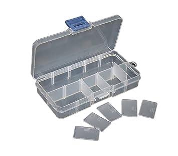 Caja Estuche de Plastico para Pesca Caza señuelos u objetos ...
