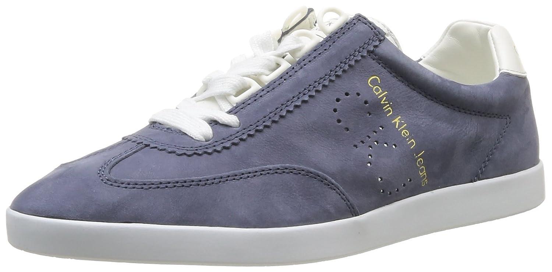 Smooth Tennis Calvin Chaussures Jeans Klein Washed De Nubuck Abbott AqcjL354R