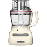 KitchenAid 5KFP1335EAC - Robot de cocina, con capacidad del tazón de 3.1 l, 220-240 V, 49 x 28 x 26 cm, color blanco