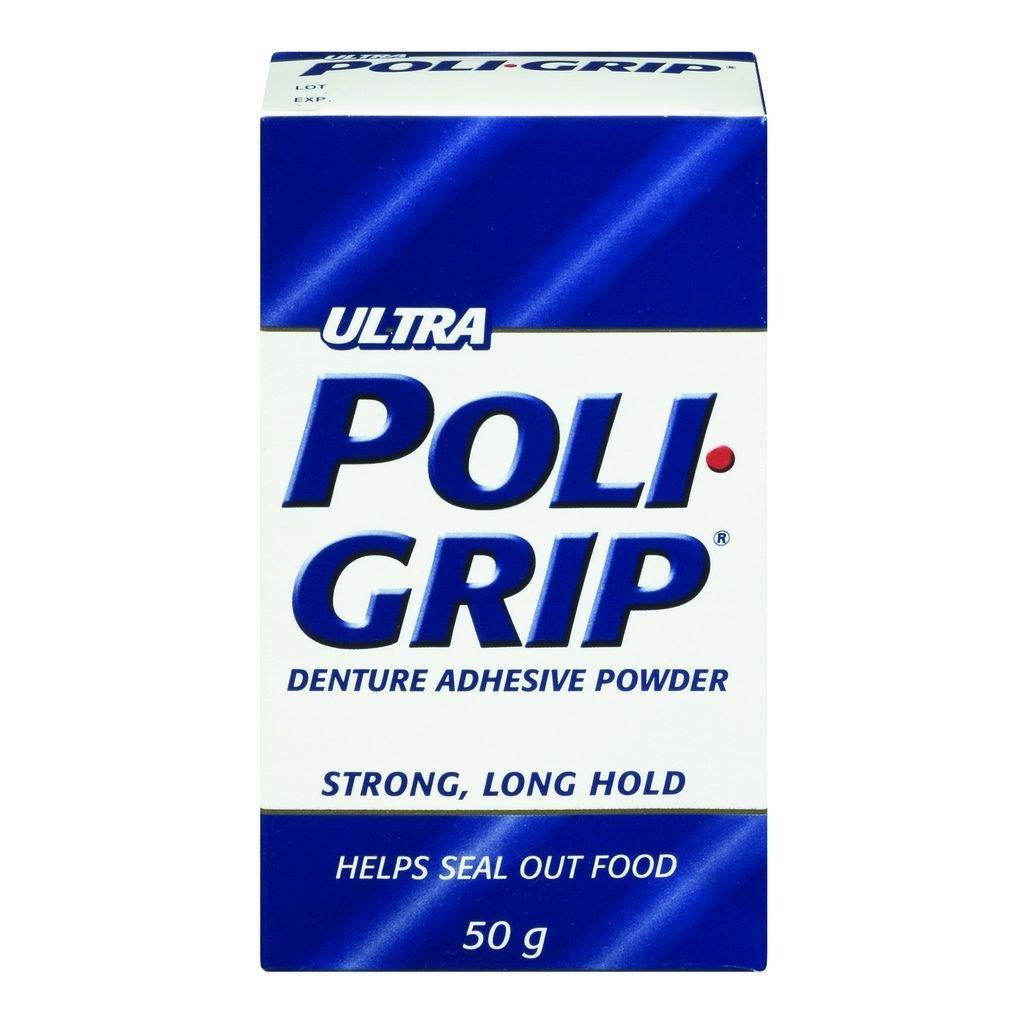 Ultra Denture Adhesive Powder 50 G POLIGRIP