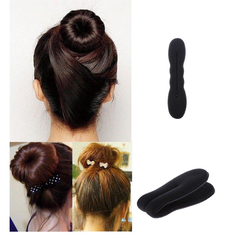 Damen Haar Styling Frisurenhilfe Haarschmuck Hair Bun Maker Dutt Hilfe Twist