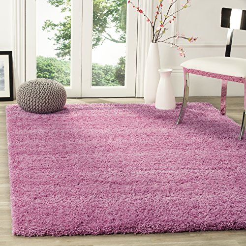 Safavieh California Shag Collection SG151-3232 Pink Area Rug (4' x 6')