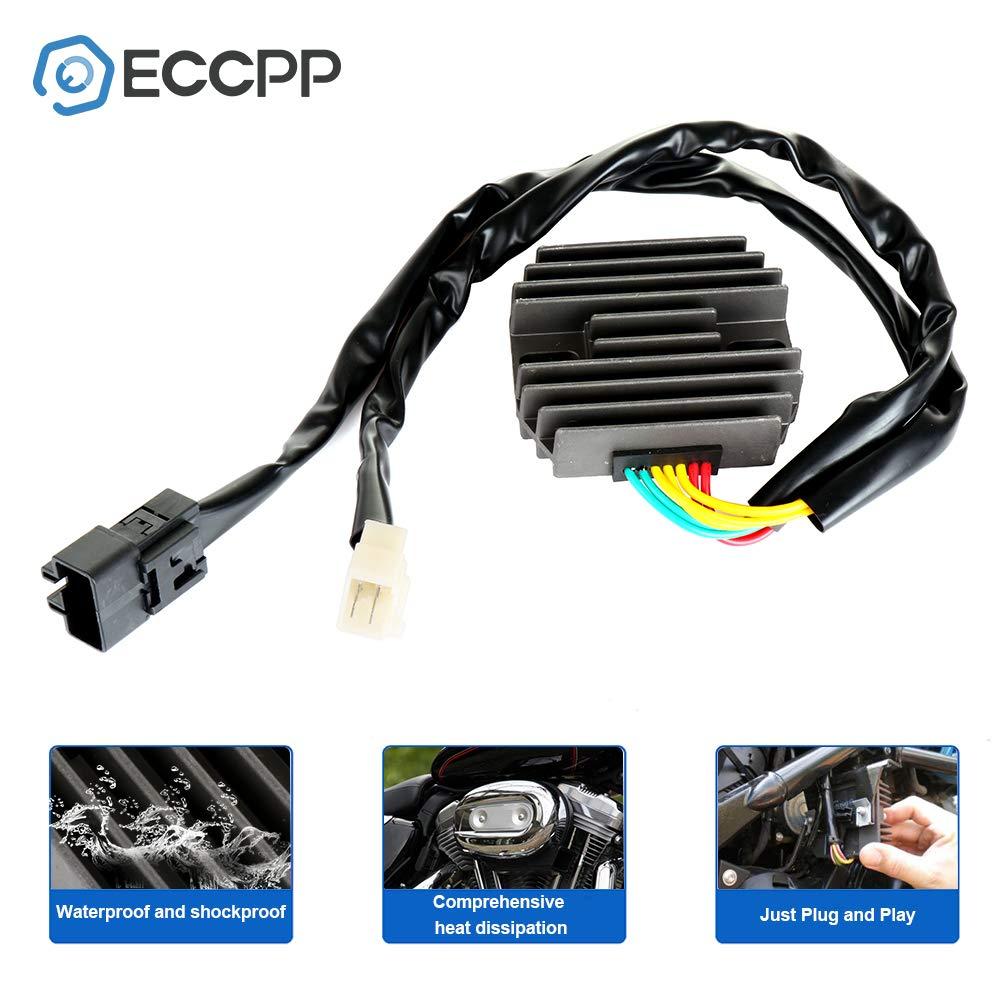 ECCPP Voltage Regulator Rectifier Fit for 2003-2006 Honda CBR600RR 2001 Honda CBR929RE 2000-2001 Honda CBR929RR Rectifier Regulator