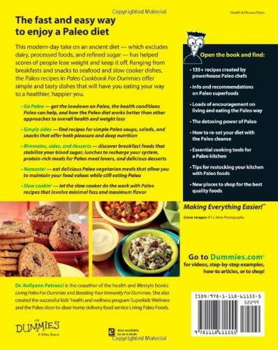 Paleo Cookbook For Dummies