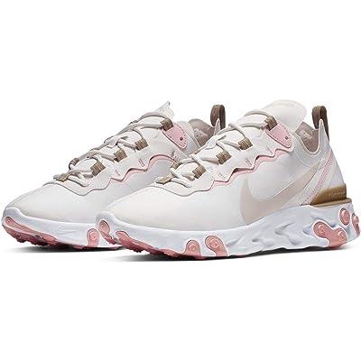 Nike W React Element 55 [BQ2728-007] Women Casual Shoes Phantom/Light Brown/US 6.0 | Road Running