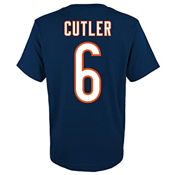 cheap for discount 7f2cf e776a Amazon.com : Outerstuff Jay Cutler NFL Chicago Bears Player ...