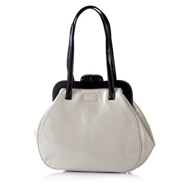 Lulu Guinness Mid Pollyanna Patent Leather Bag  Amazon.co.uk  Clothing 30a6bfeab1227