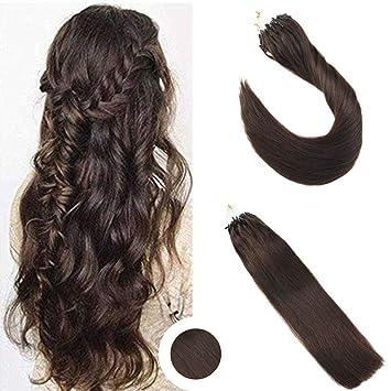 überlegene Leistung am beliebtesten Promo-Codes Ugea Microring Haarverlangerung Tressen 16