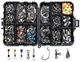Best Fishings - JSHANMEI Fishing Accessories Kit 160pcs, Including Hooks, Sinkers,Bullet Review